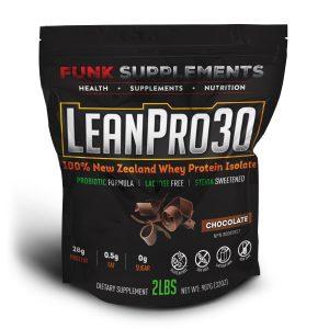 LeanPro30 100% New Zealand Whey Isolate Protein Powder