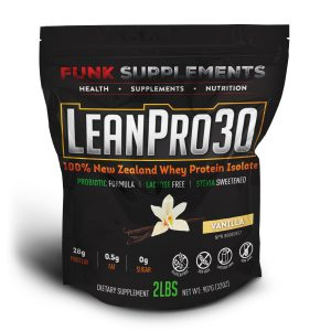 LeanPro30 100% New Zealand Whey Isolate Protein Powder
