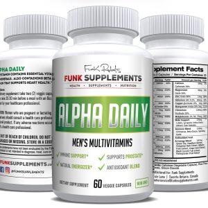 Alpha Daily Men's Multivitamins
