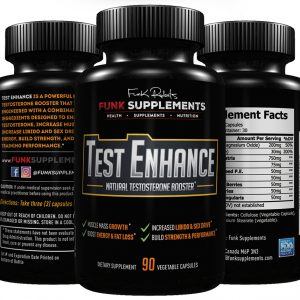 Test Enhance Natural Testosterone Booster