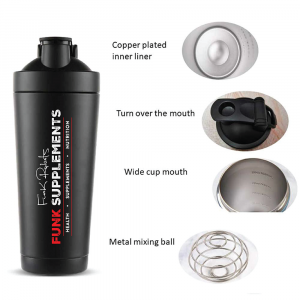 Funk Supplements Signature Insulated Shaker Bottle