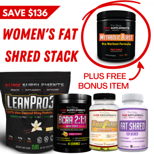 Women's Fat Shred Stack
