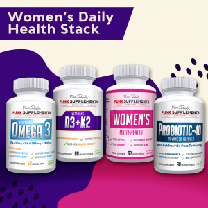 Women's Daily Health Stack